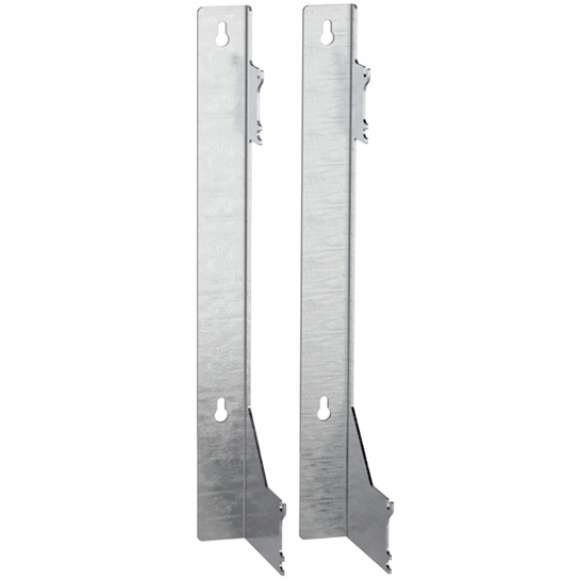110 - Pair of stainless steel brackets to secure modular manifolds