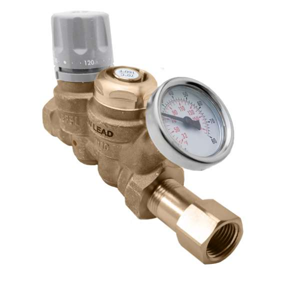 116 - ThermoSetter™ Thermal Balancing Valve (low-lead, thermal disinfection)