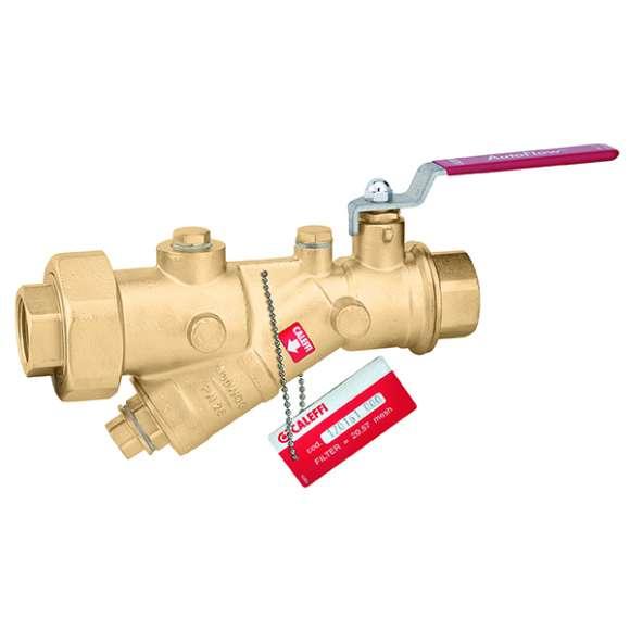 120 - Kombinácia Y-filtra a guľového ventila
