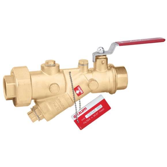 120 - Kombinacija loptastog ventila i Y filtera. Telo od mesinga.
