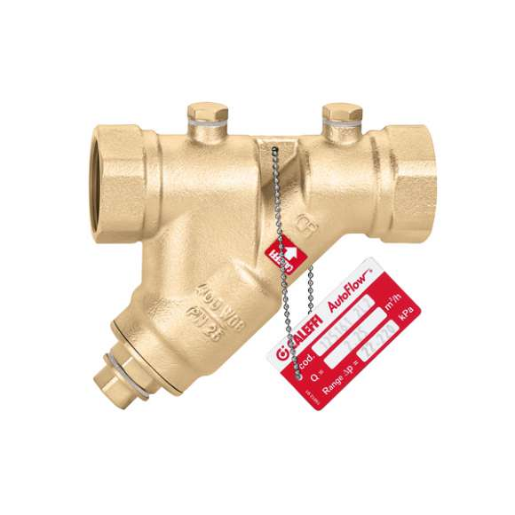 125 - AUTOFLOW® - Automatic flow rate regulator with stainless steel cartridge