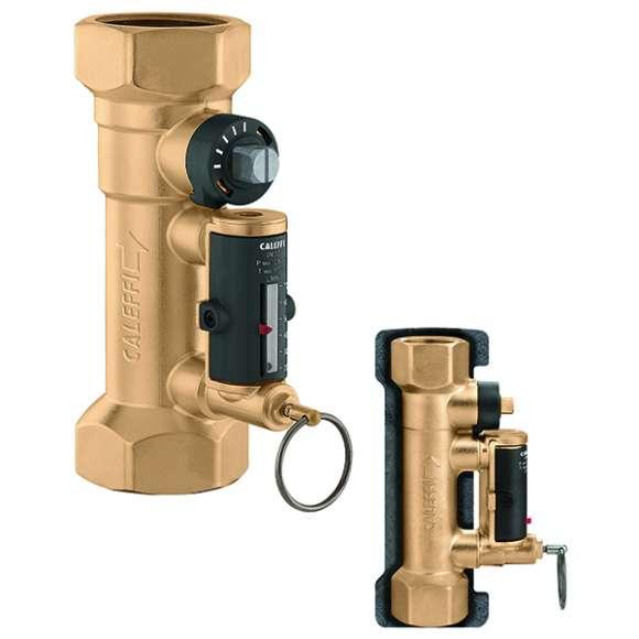 132 - Válvula de balanceamento com caudalímetro