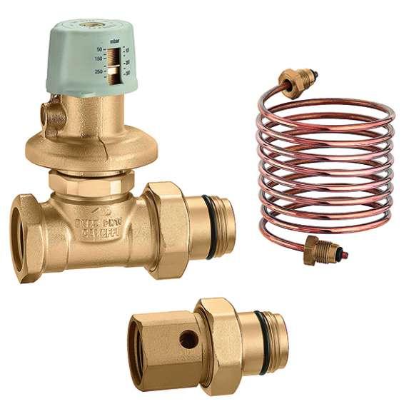 "140 - Differential pressure regulating valve for 1"" distribution manifolds"