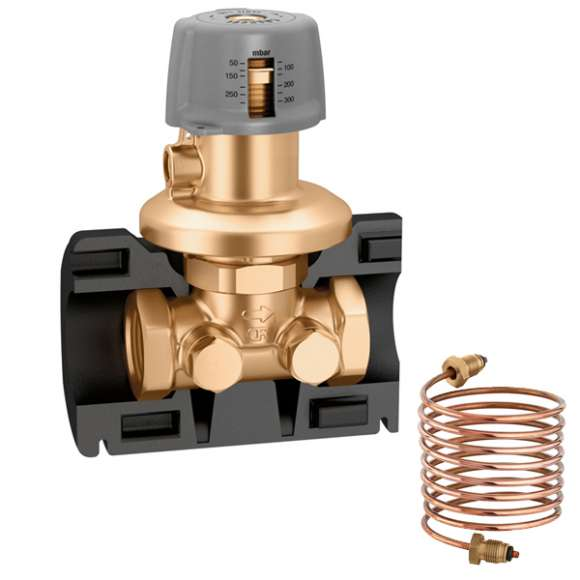 140 - Differential pressure regulating valve (DPCV). With insulation