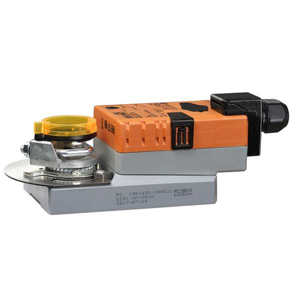 146 - Rotačný proporcionálny pohon pre regulačné ventily s prírubovými spojeniami.
