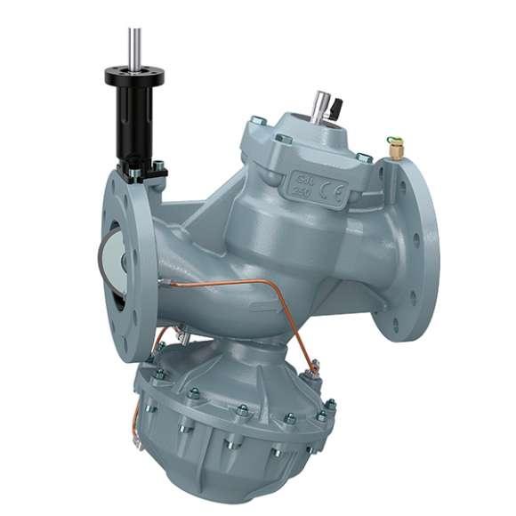 146 - FLOWMATIC® -Zawór regulacyjny niezależny od ciśnienia. Przyłącza kołnierzowe