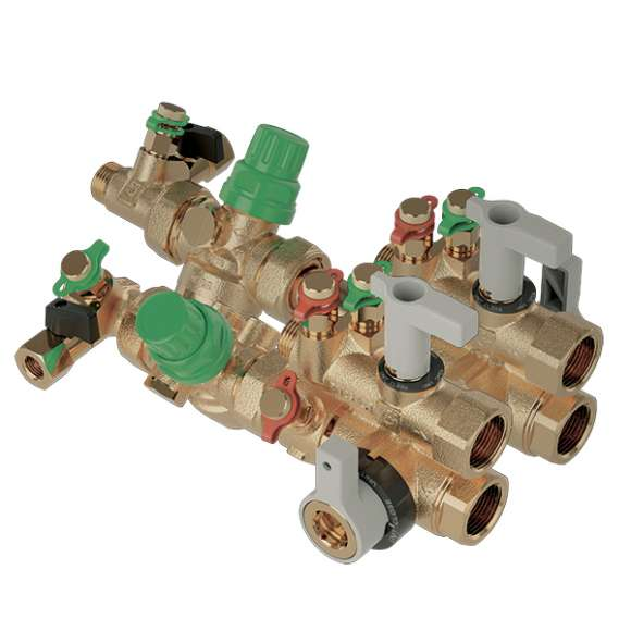 149 - Connection and regulation kit for HVAC terminal units