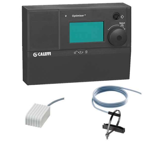 1520 - Digitalni temperaturni regulator sa kontaktnim senzorom na razvodu i spoljnim senzorom