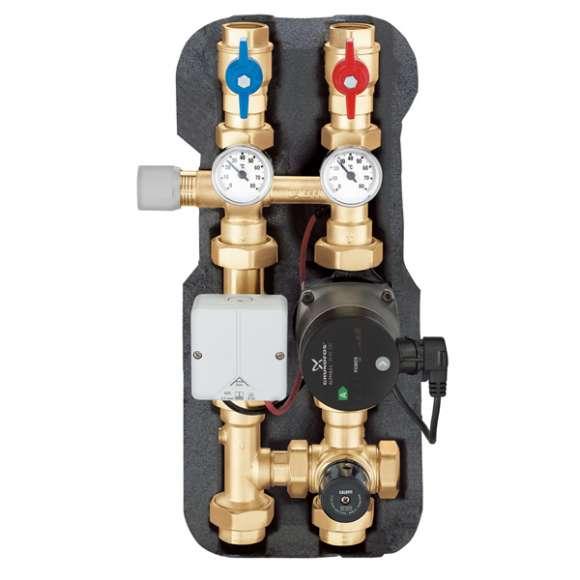 163 - Grupo de regulação termostática