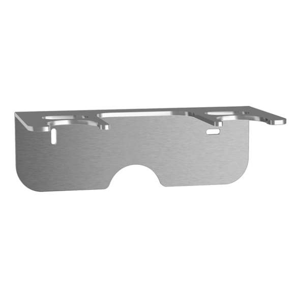 165 - Mounting bracket in stainless steel for units 165, 166 and 167 series