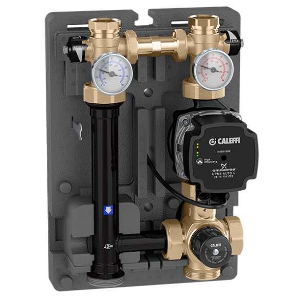 166 - Grupo de regulação termostática para instalações de aquecimento