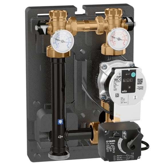 167 - Motorna regulaciona jedinica za grejanje i hlađenje