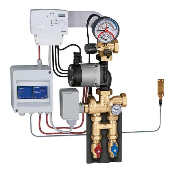 171 - Modulerende thermische regelgroep voor verwarming en koeling