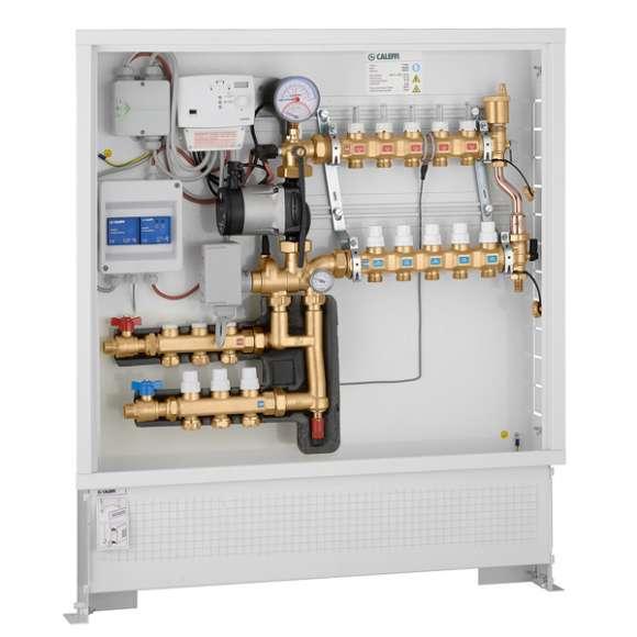 171 - Termička modularna jedinica sa digitalnim regulatorom za grejanje i rashlađivanje i setom za distribuciju fluida za primarni krug