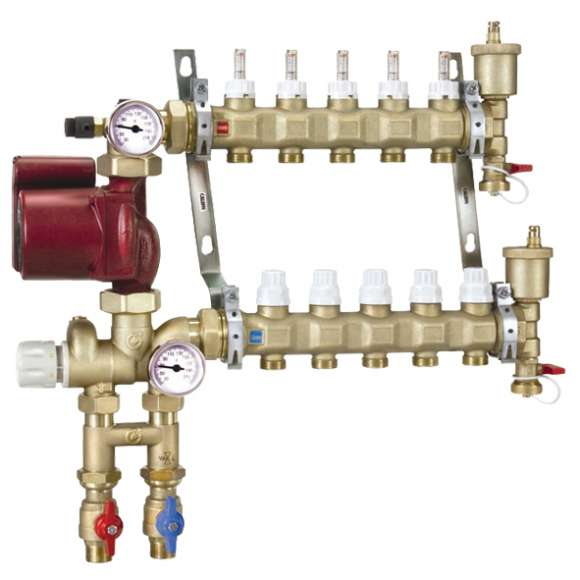 172 - Manifold Mixing Station (with 3-speed pump)