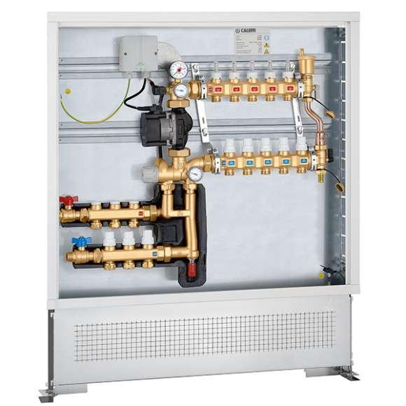 172 - Termička jedinica sa fiksnom regulacijom sa setom za distribuciju fluida za primarni krug