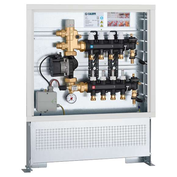 182 - Pre-assembled set point regulating unit in inspection wall box