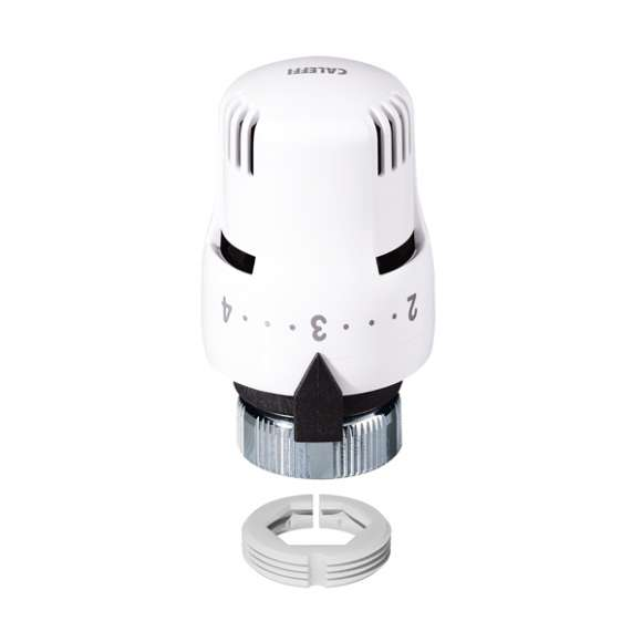 200 - Thermostatic control head. Built-in sensor with liquid-filled element. With adapter