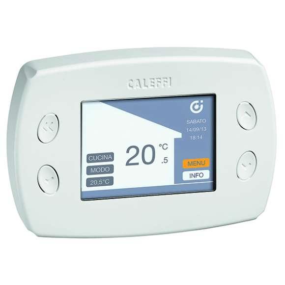 210 - WiCAL® - Centralina di regolazione termica multi-zone, ad onde radio