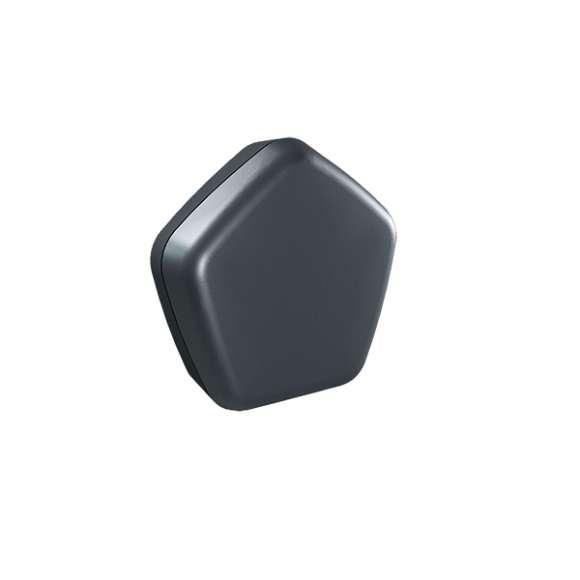 215 - Sensor PRO CALEFFI CODE® - Wireless ambient temperature sensor with boiler contact.Black