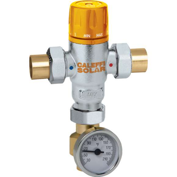 2521 - Adjustable Thermostatic Mixing Valve (with temperature gauge)