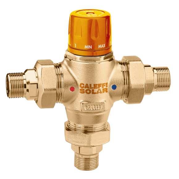 2523 - Solar - Termostatski miješajući ventil, sa zamjenjivim uloškom