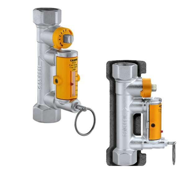 258 - Válvula de balanceamento com caudalímetro para instalações solares