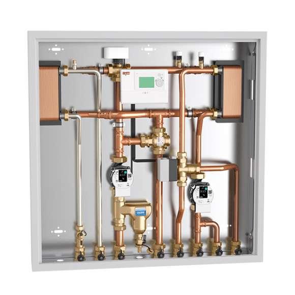 2855 - Enota za povezovanje in upravljanje z energijo, izvedba za ogrevanje in trenutno dobavo sanitarne tople vode.