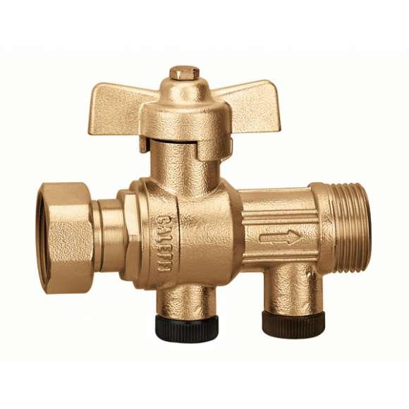 3041 - Loptasti ventil sa ugrađenim nepovratnim ventilom