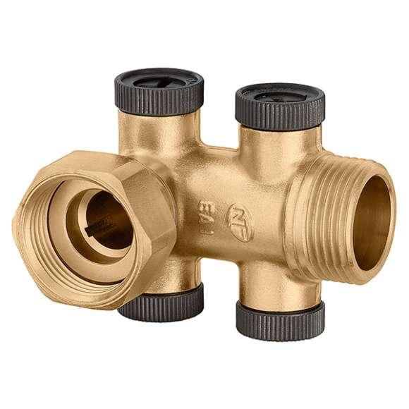 3046 - Nepovratni ventil. Tip EA type. Priključci: holender - M