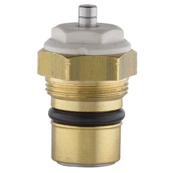 338 - Dönüştürülebilir ve termostatik radyatör vanaları için ters akışlı yedek çekirdek