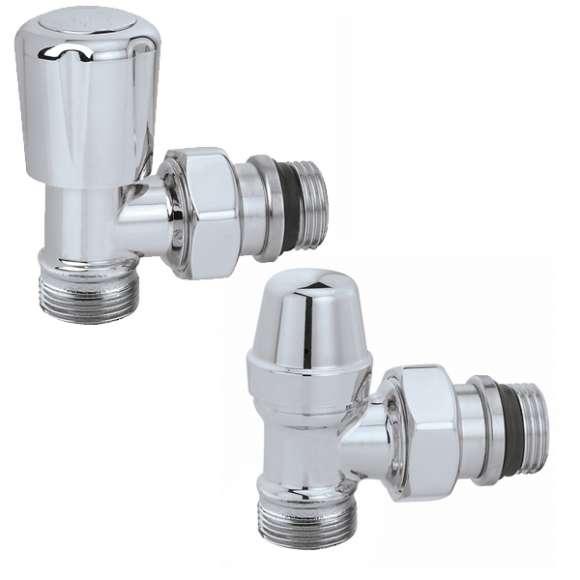 3380 - Conjunto de válvula termostatizável predisposta para comandos termostáticos e eletrotérmicos, detentor