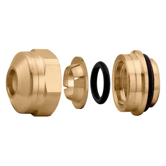 347...S1 - Adaptador mecânico para tubagem com vedação O-Ring