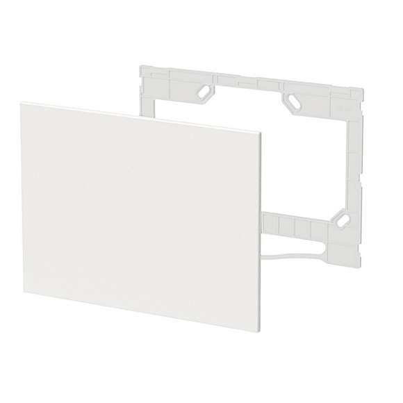 359 - Placca di copertura estetica, in materiale plastico verniciabile