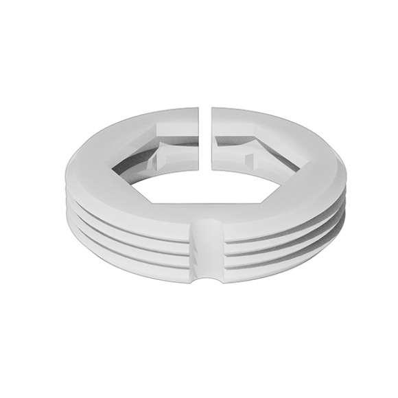 F36077 - Adattatore da utilizzare per l'accoppiamento dei comandi termostatici ed elettrotermici