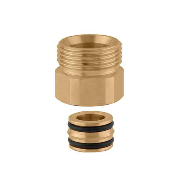 383 - Connection fitting with O-Ring seal