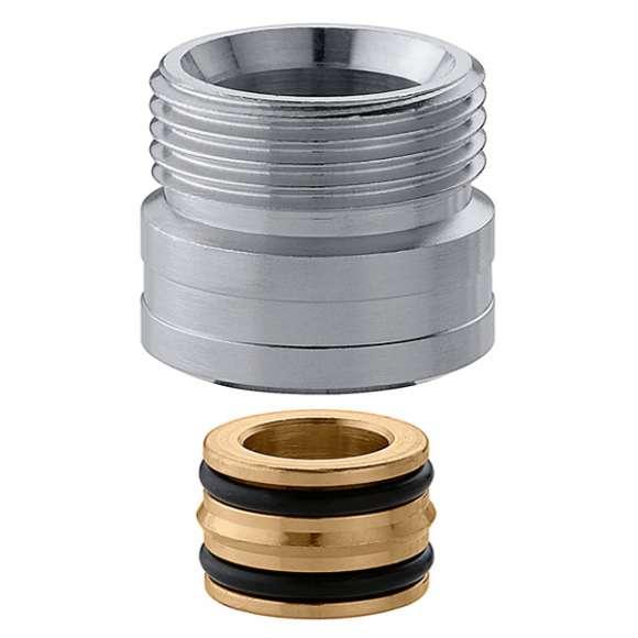 383 - União de ligação com vedação O-Ring. Cromada.