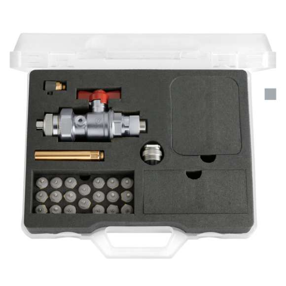 """3872 - Kit per sostituzione vitone per valvole radiatore da 3/8"""" e 1/2"""""""