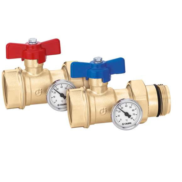 391...S1 - Pair of ball shut-off valves