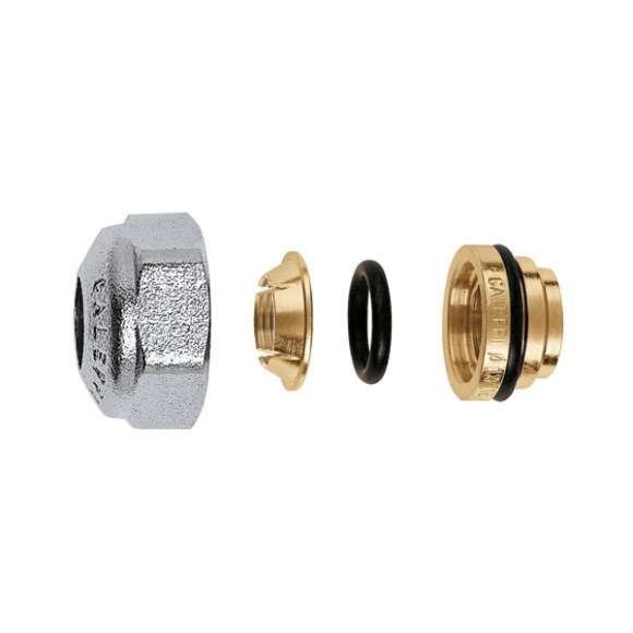 437 - Raccordo meccanico, per tubo in rame a tenuta O-Ring