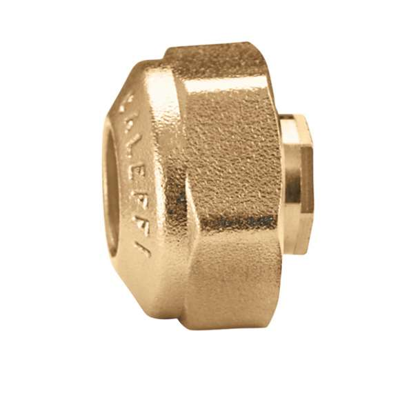 446 - Pre-assembled compression fitting, for annealed copper, hard copper, brass, mild steel and stainless steel pipes