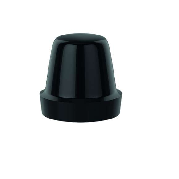 4493 - Knob for lockshields. Black