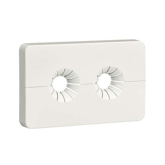 4499 - Double wall-covering plate