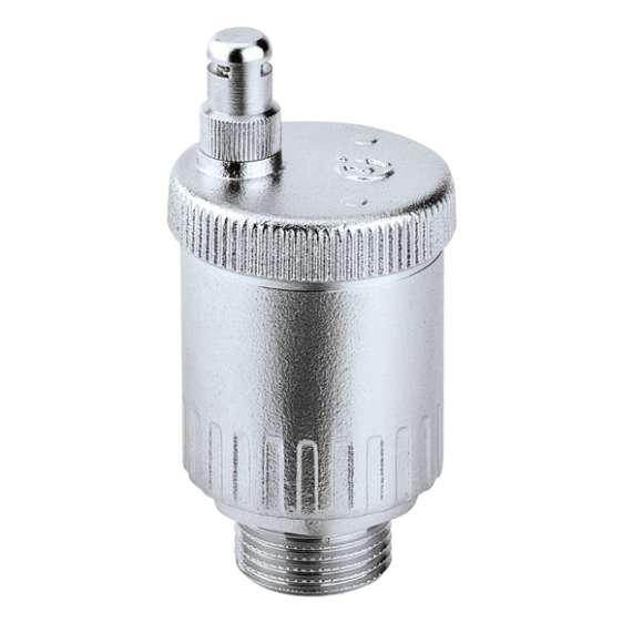 5020 - MINICAL - Automatyczny zawór odpowietrzający 3/4″ GZ i 1″ GZ. Wykończenie: chrom