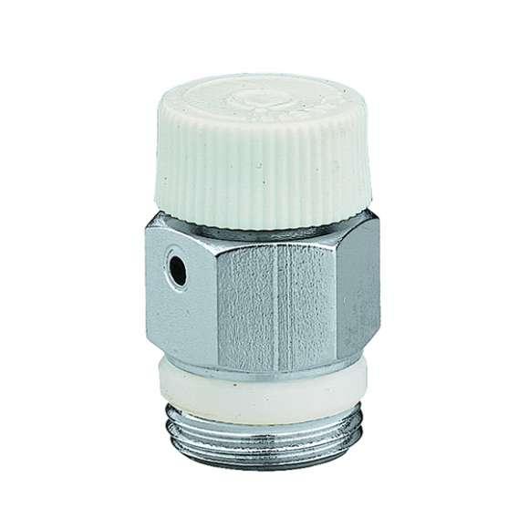 505 - Ručni odzračni ventil za radijatore. PTFE zaptivka na navoju