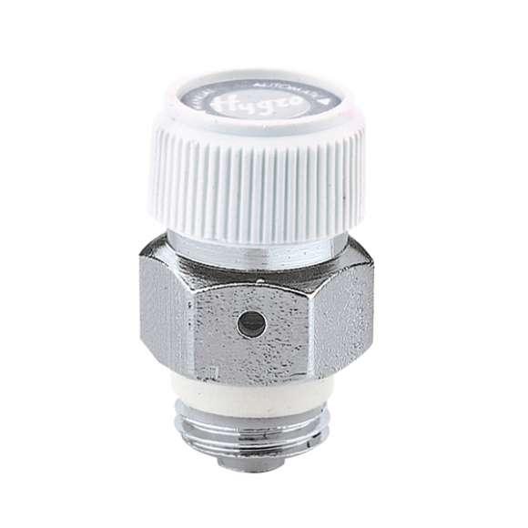 5080 - Purgador de ar higroscópico automático para radiadores. Rosca com vedação PTFE - Cromado