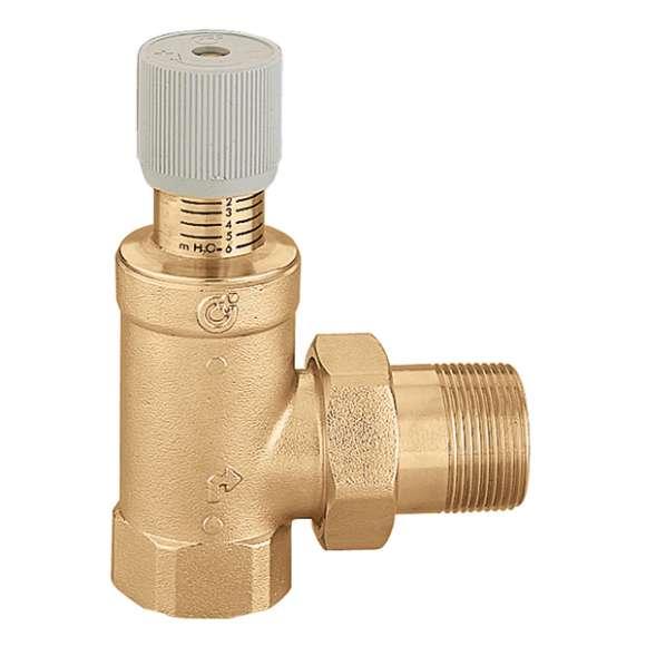 519 - Diferenční by-pass ventil s nastavením podle stupnice