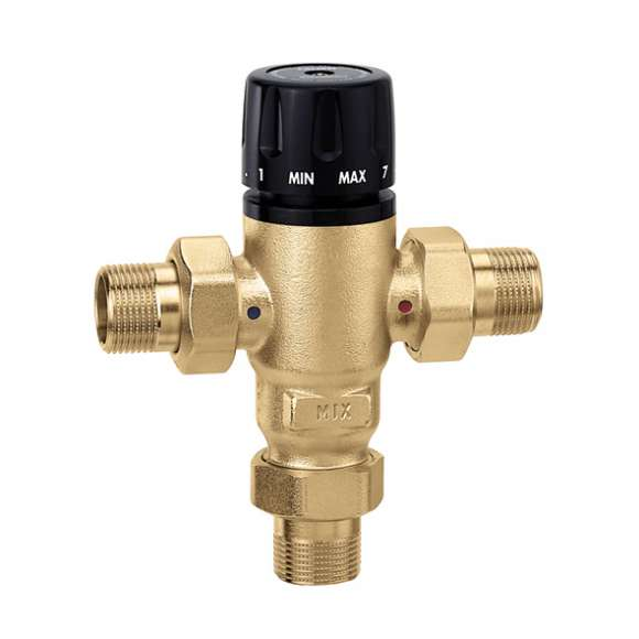 521 - MixCal™ Adjustable Thermostatic and Pressure Balanced Mixing Valve (NPT)