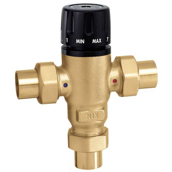 521 - MixCal™ Adjustable Thermostatic and Pressure Balanced Mixing Valve (sweat)