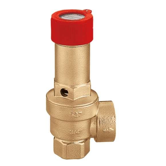 527 EST - Varnostni ventil s posebnimi nastavitvami, priključki Ž-Ž
